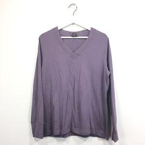 346 Brooks Brothers Shirt Purple Long Sleeve